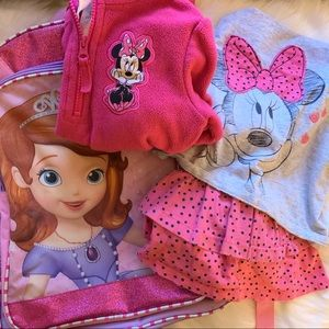 Disney Minnie Mouse and Sophia the First Bundle